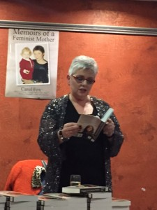 Carol Fox reads from Memoirs of a Feminist Mother