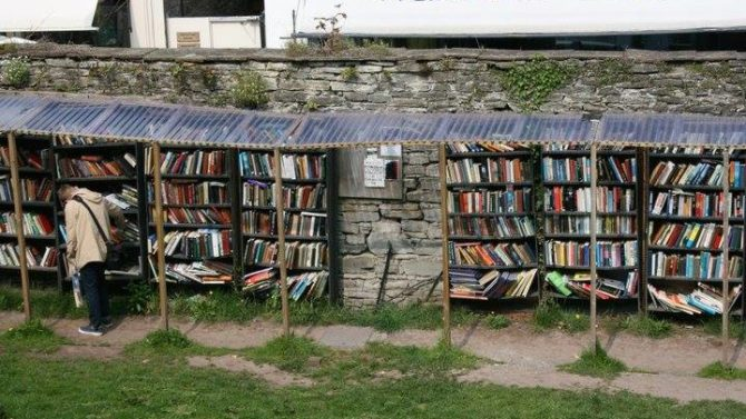 Book towns reportage