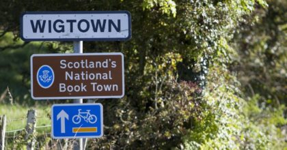 Book towns reportage - Wigtown